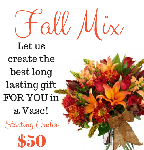 Winter Haven Florist Fall Mixed Flower Vase Flowers From The Heart