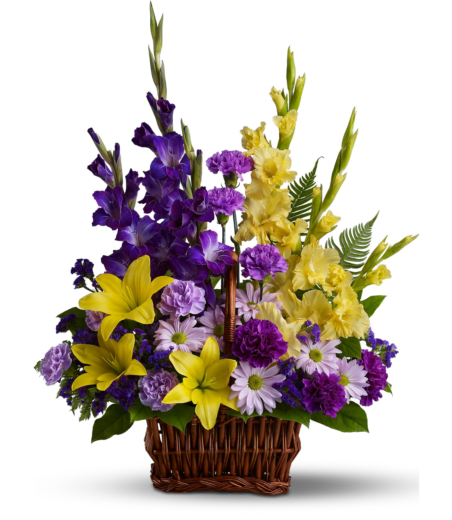 Fondest Good Bye Basket Flowers From The Heart