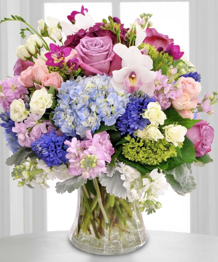 Sweetest Garden Bouquet Premium Shown